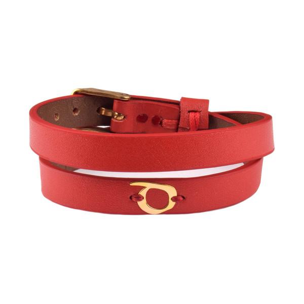 دستبند طلا 18 عیار زنانه درگون جولری مدل SLT24