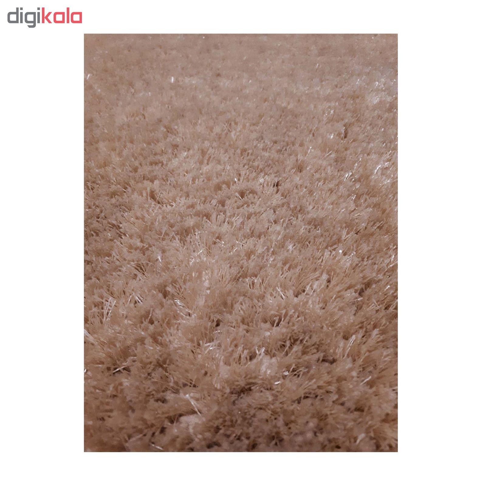 فرش ماشینی مدل شگی کد 5013 زمینه نسکافه ای main 1 1
