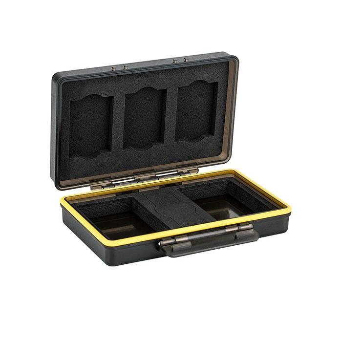 کیف محافظ باتری و کارت حافظه جی جی سی مدل BC-3XQD3