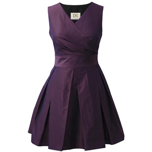 پیراهن زنانه درس ایگو کد 1010004 رنگ بنفش