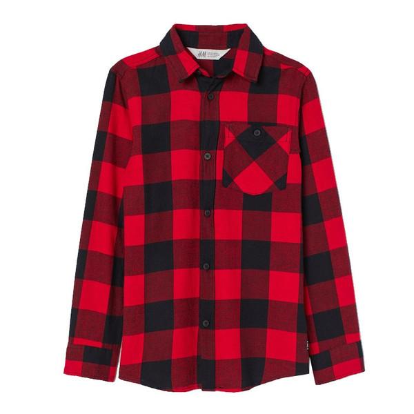 پیراهن پسرانه اچ اند ام کد 0754154001