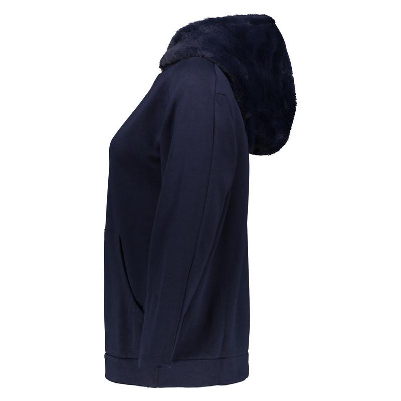 هودی زنانه اسپرینگ فیلد مدل 1084097-MARINE BLUE
