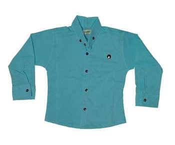 پیراهن پسرانه کد 777 رنگ آبی روشن
