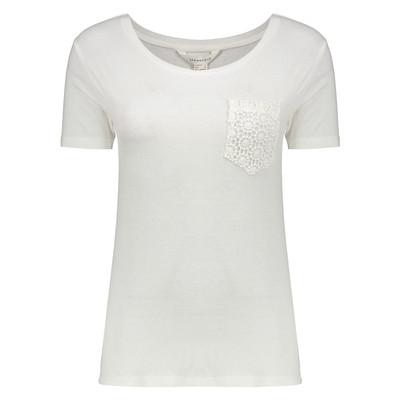 تی شرت زنانه اسپرینگ فیلد مدل 2736268-IVORY