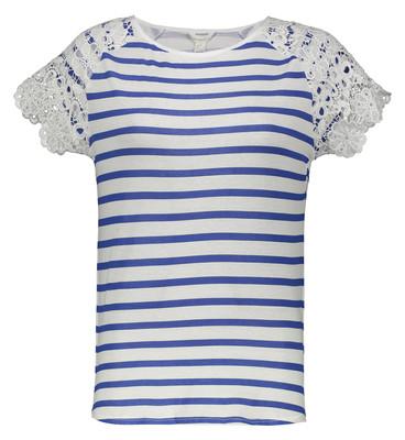 تصویر تی شرت زنانه اسپرینگ فیلد مدل 2736101-BLUES