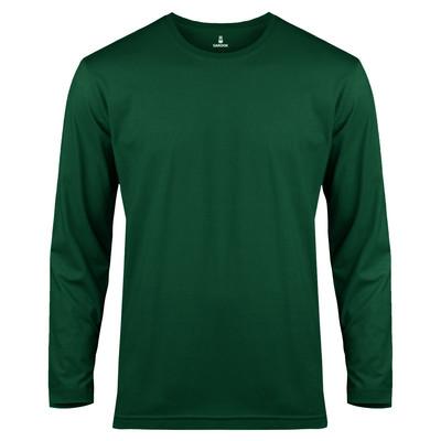 تی شرت آستین بلند مردانه ساروک مدل SMYU1RO06 رنگ یشمی