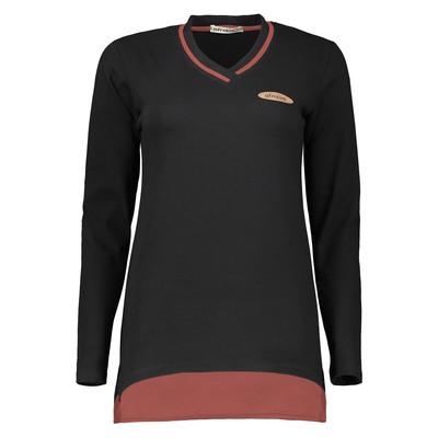 تصویر تی شرت زنانه افراتین کد 7077K