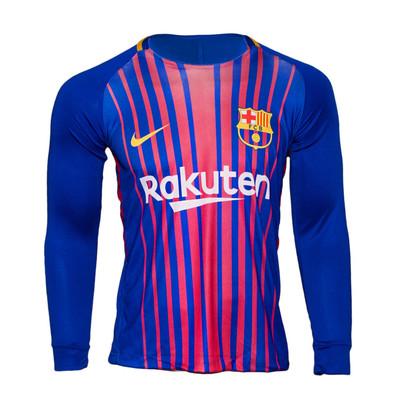 تصویر تیشرت ورزشی پسرانه طرح بارسلونا کد 19