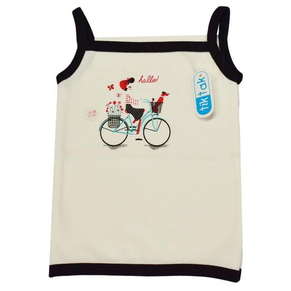 تاپ نوزاد تیک تاک طرح دوچرخه کد 01