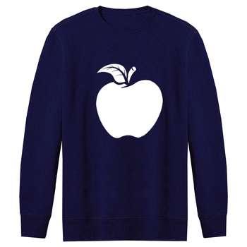 سویشرت مردانه طرح سیب کد S20 رنگ سرمه ای