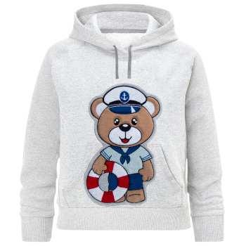 هودی پسرانه طرح خرس ملوان کد F41