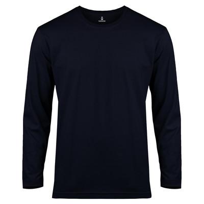 تصویر تی شرت آستین بلند مردانه ساروک مدل SMYU1RO03 رنگ سرمه ای