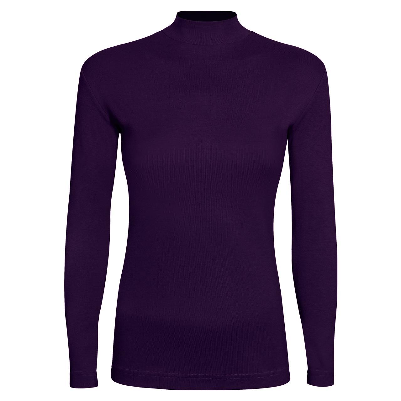 تی شرت آستین بلند زنانه ساروک مدل SZY5C12 رنگ بنفش