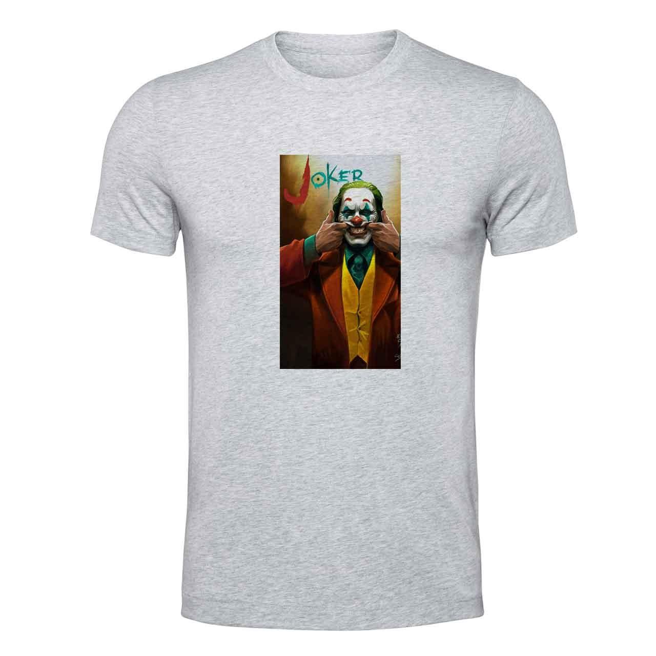 تی شرت مردانه طرح جوکر کد wtk639