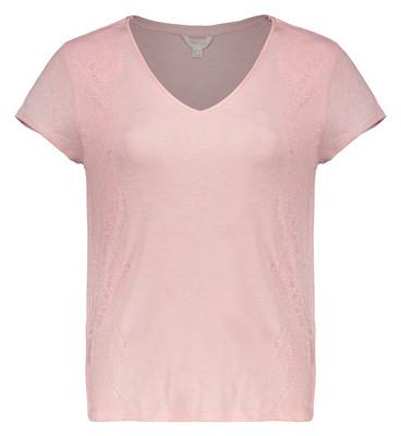 تصویر تی شرت زنانه اسپرینگ فیلد مدل 8863709-PINKS