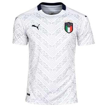 تیشرت ورزشی مردانه طرح ایتالیا کد 2019.20 رنگ سفید