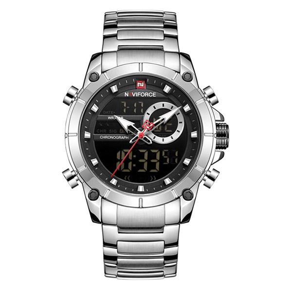 کد تخفیف                                      ساعت مچی عقربه ای مردانه نیوی فورس مدل NF9163 SB