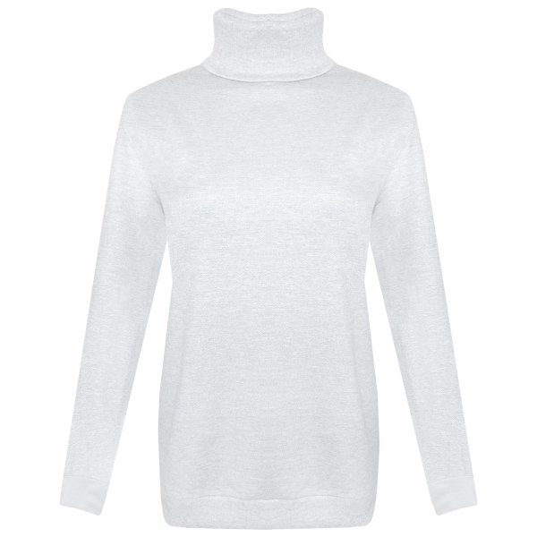 سویشرت زنانه مدل Zyxel 123 رنگ سفید