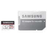 کارت حافظه microSDXC سامسونگ مدل PRO Endurance کلاس 10 استاندارد UHS-I U1 سرعت 80MBps ظرفیت 32 گیگابایت به همراه آداپتور SD thumb