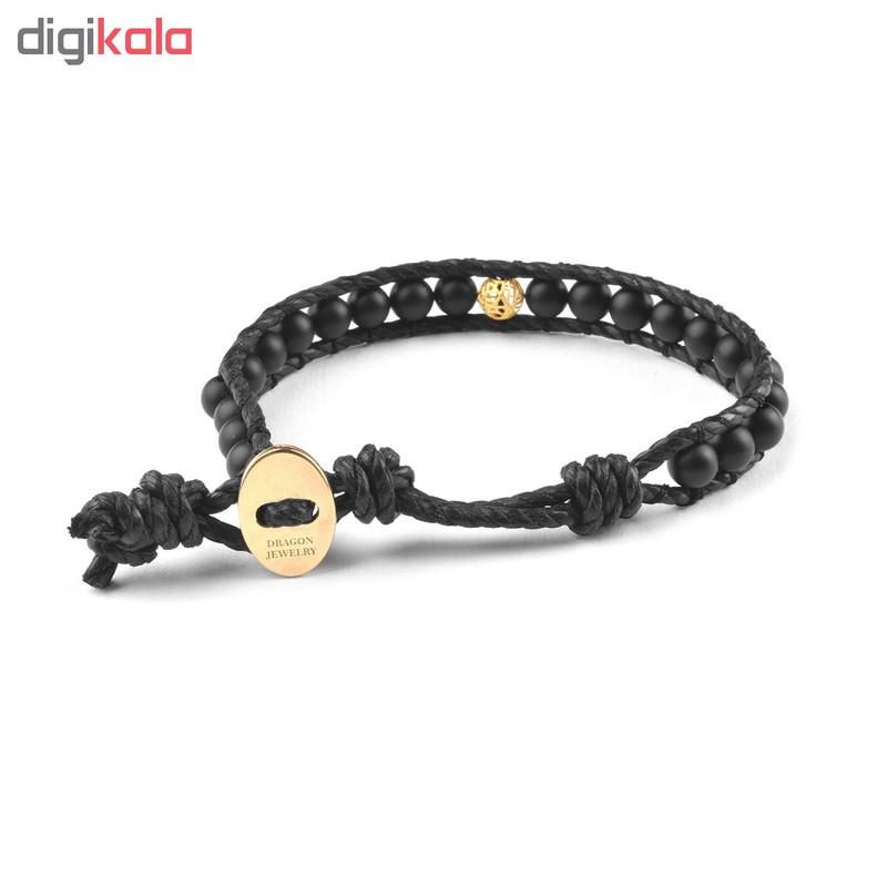 دستبند طلا 18 عیار زنانه درگون جولری مدل WX51