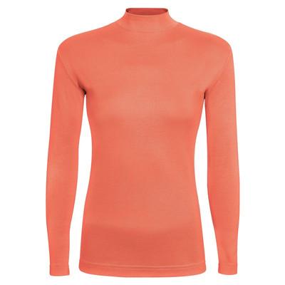تی شرت آستین بلند زنانه ساروک مدل SZY5C15 رنگ نارنجی