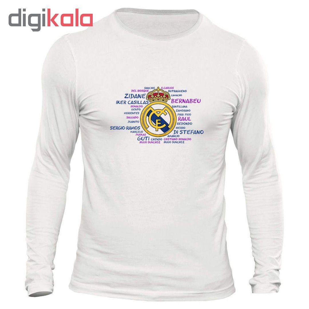 تیشرت مردانه طرح رئال مادرید کد ۱۱۲۹ main 1 1