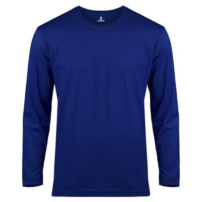 تی شرت آستین بلند مردانه ساروک مدل SMYU1RO04 رنگ آبی