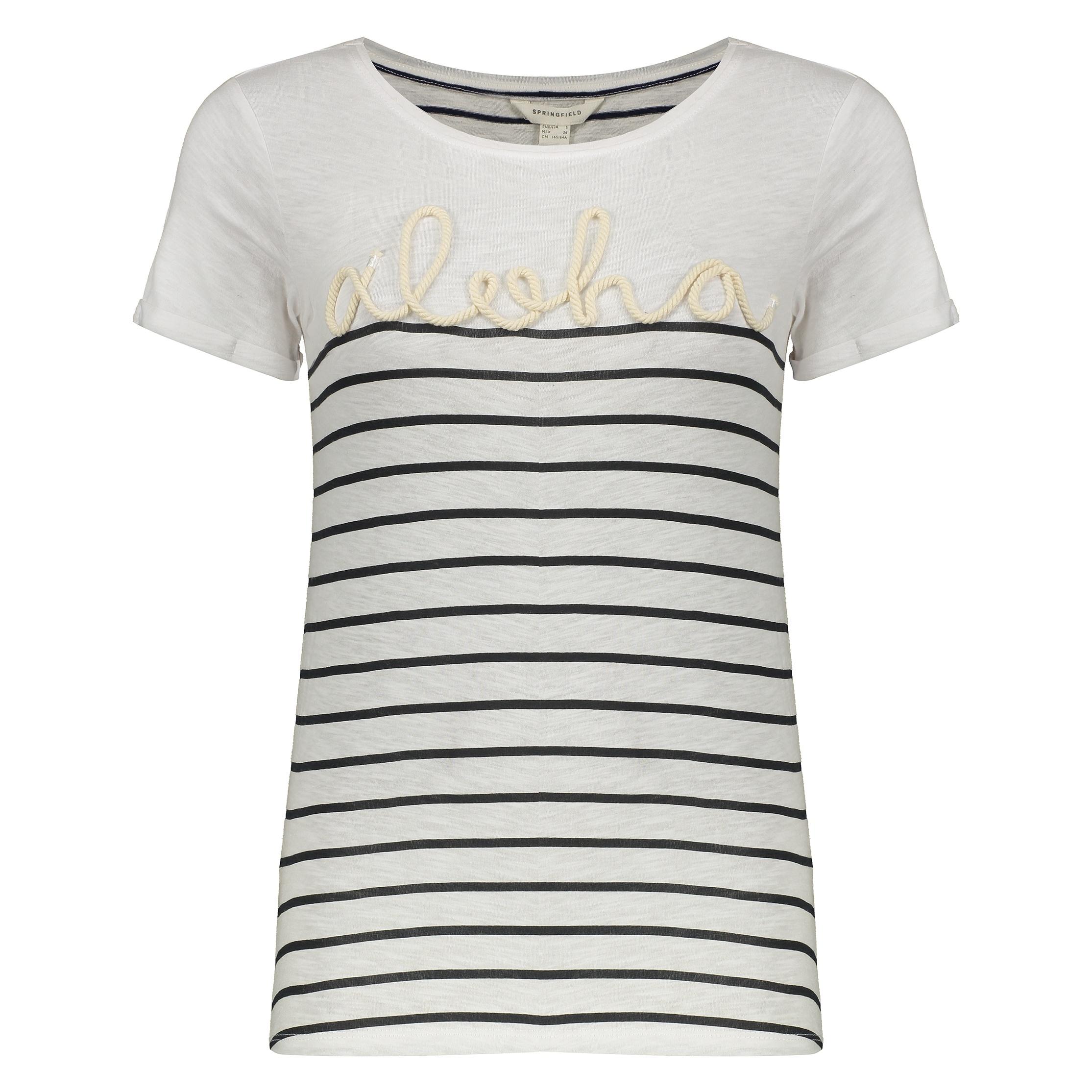 تی شرت زنانه اسپرینگ فیلد مدل 1383035-WHITE