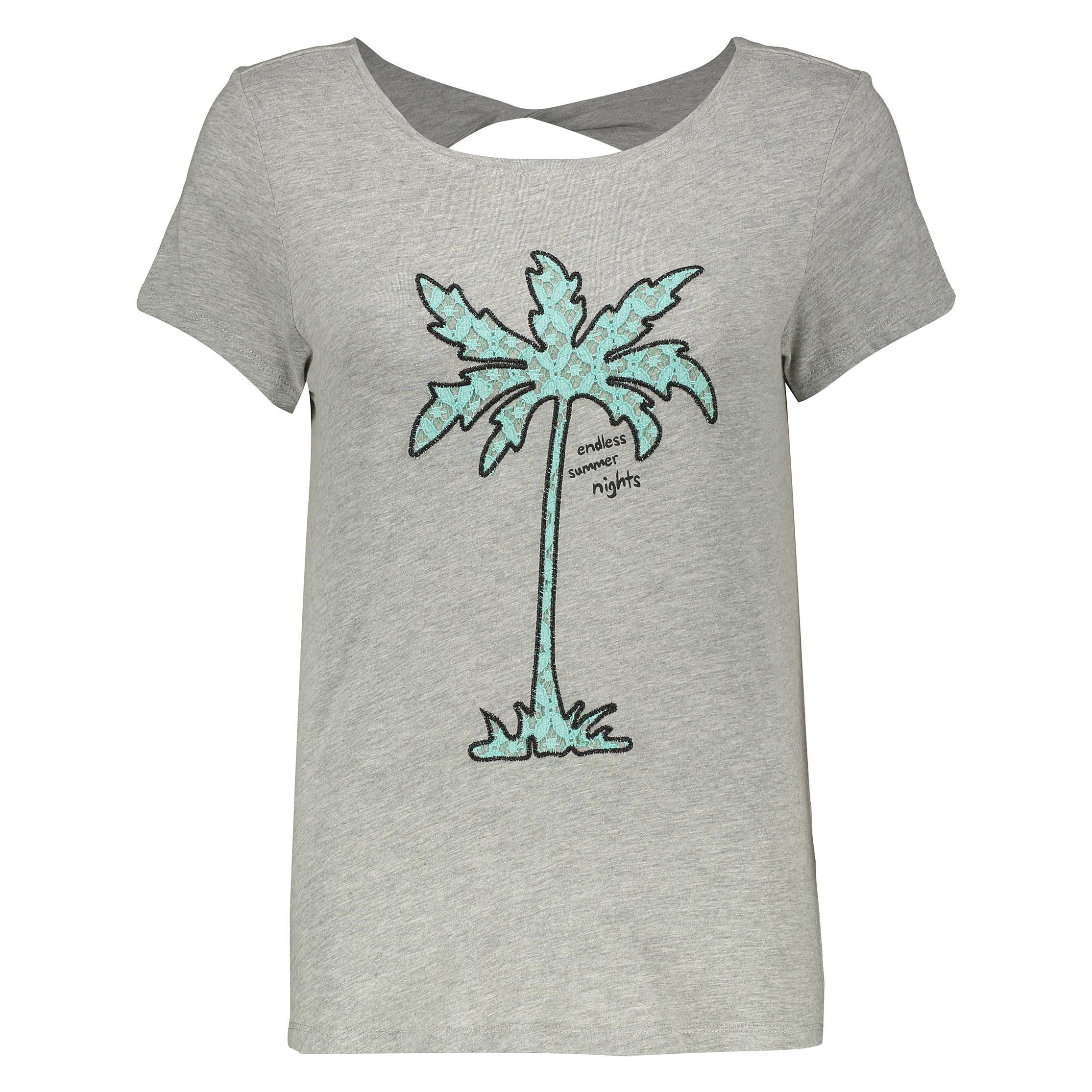 تصویر تی شرت زنانه اسپرینگ فیلد مدل 1383027-GREYS