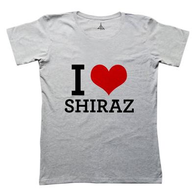 تی شرت زنانه به رسم طرح شیراز کد ۴۴۶۲
