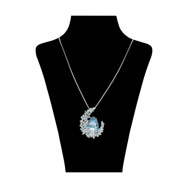 گردنبند زنانه کد GN281126 با سنگ سواروسکی