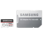 کارت حافظه microSDXC سامسونگ مدل PRO Endurance کلاس 10 استاندارد UHS-I U1 سرعت 80MBps ظرفیت 64 گیگابایت به همراه آداپتور SD thumb