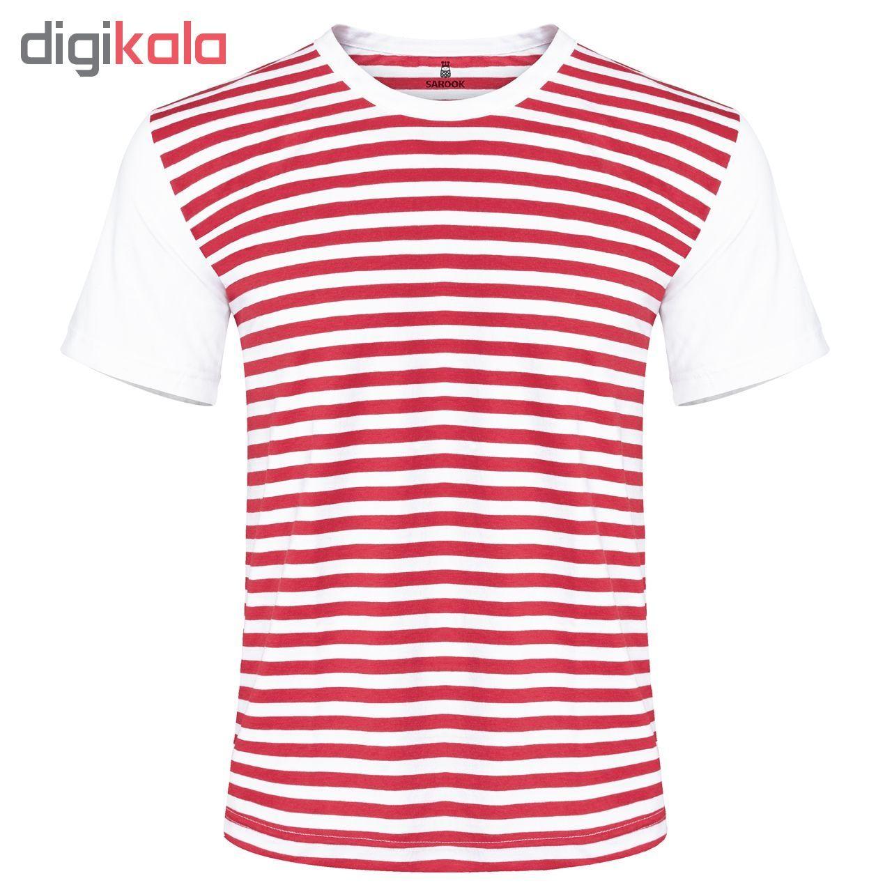 تی شرت مردانه ساروک مدل TMYURR2T05