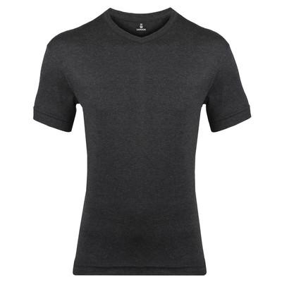 تصویر تی شرت مردانه ساروک مدل TMYVFR10 رنگ ذغالی