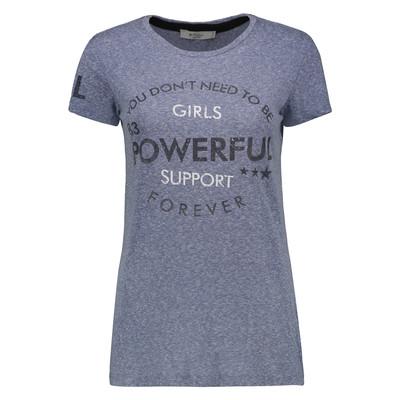 Photo of تی شرت زنانه کالینز مدل CL1032823-BLUE MELANGE
