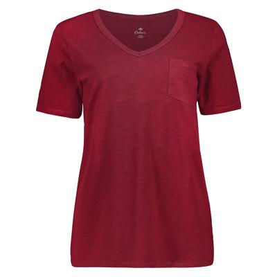تی شرت زنانه کالینز مدل CL1034536-RED WINE