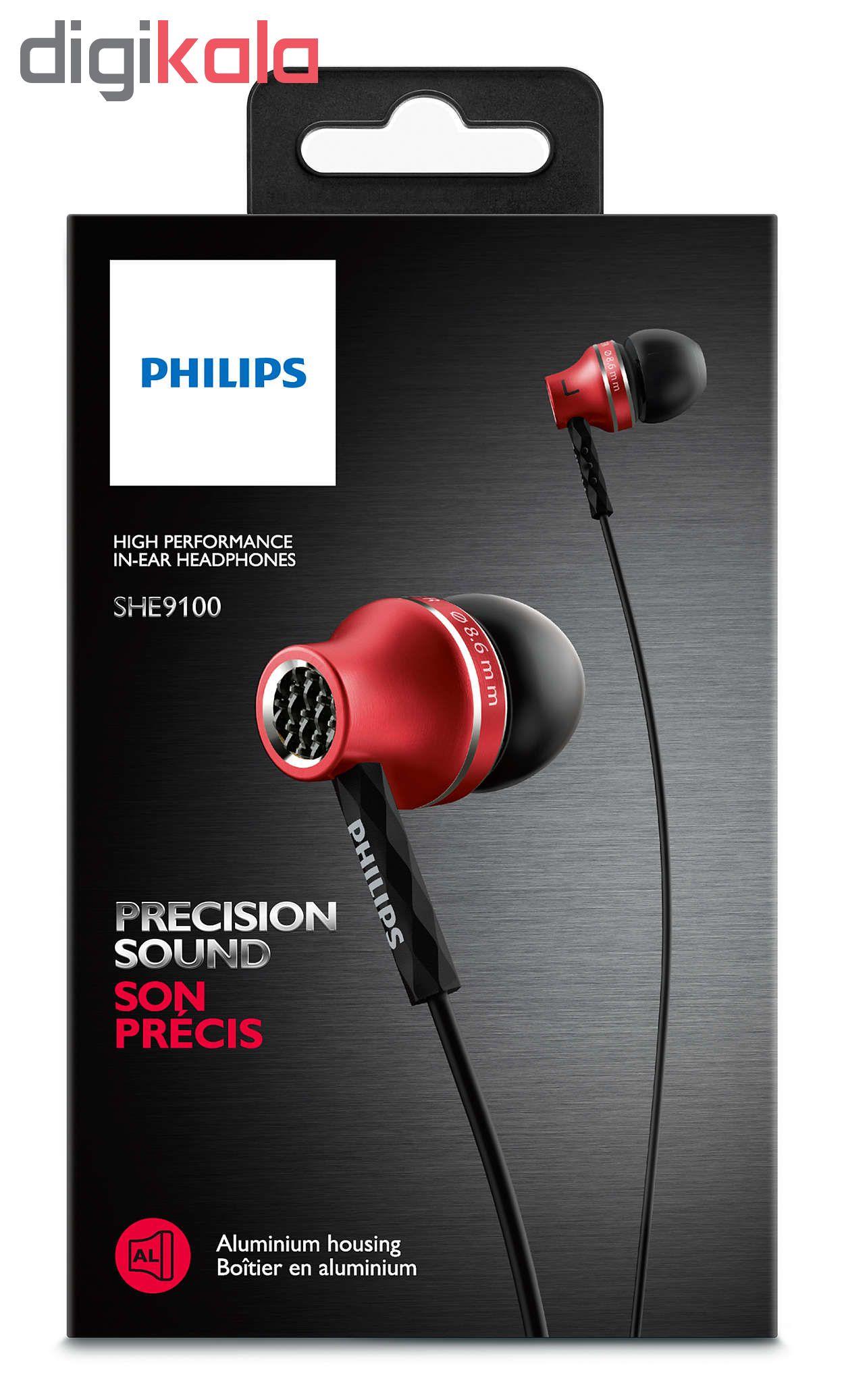 هدفون فیلیپس مدل SHE 9100