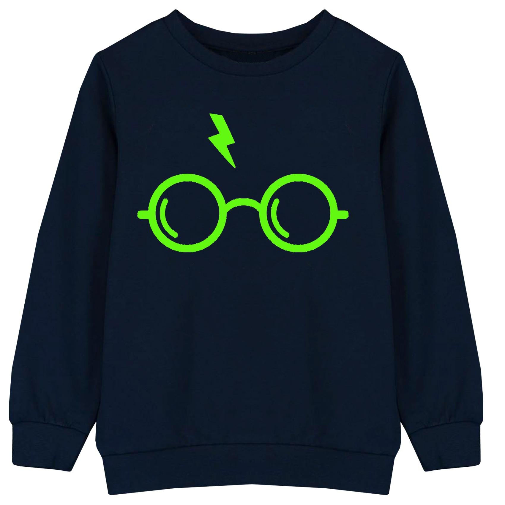 خرید                     سویشرت پسرانه طرح هری پاتر کد F06 رنگ سرمه ای