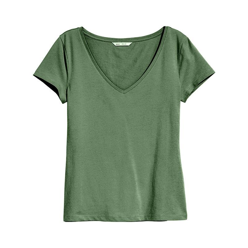 تصویر تی شرت زنانه اچ اند ام کد F1-0215248072