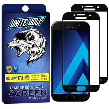 محافظ صفحه نمایش وایت ولف مدل WGF مناسب برای گوشی موبایل سامسونگ Galaxy A5 2017 بسته 2 عددی