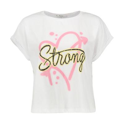 تی شرت زنانه کالینز مدل CL1033595-WHITE