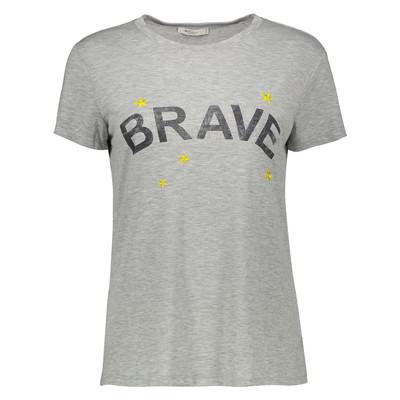 تی شرت زنانه کالینز مدل CL1034335-GREY MELANGE