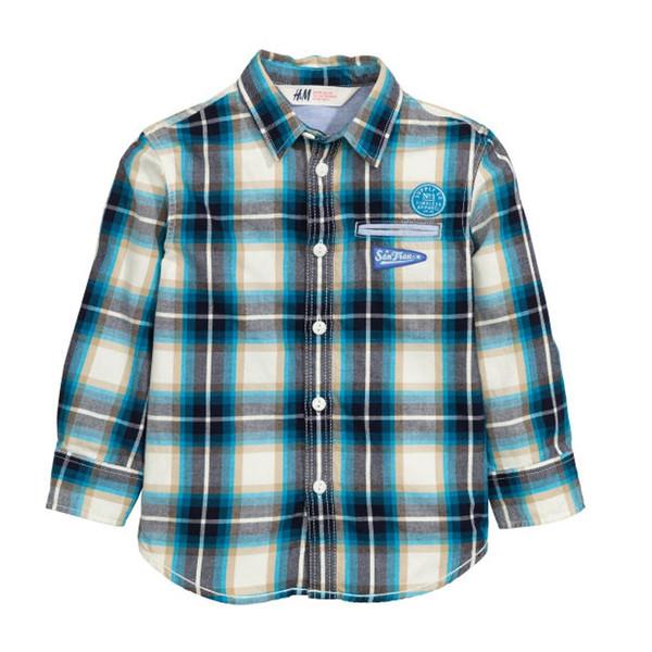 پیراهن پسرانه اچ اند ام کد C1-0383422001