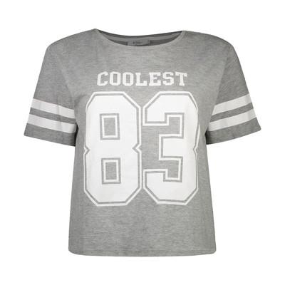 تی شرت زنانه کالینز مدل CL1032852-GREY MELANGE