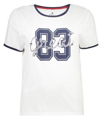 تی شرت زنانه کالینز مدل CL1033699-WHITE