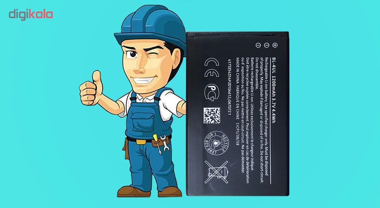باتری موبایل مدل BL-4UL ظرفیت 1200 میلی آمپر ساعت مناسب برای گوشی موبایل نوکیا 3310 main 1 1
