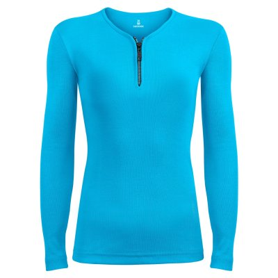 Photo of تی شرت آستین بلند زنانه ساروک مدل SZDFR01 رنگ فیروزه ای