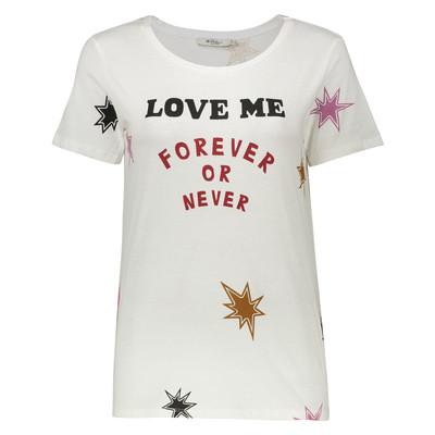 تی شرت زنانه کالینز مدل CL1032656-OFF WHITE