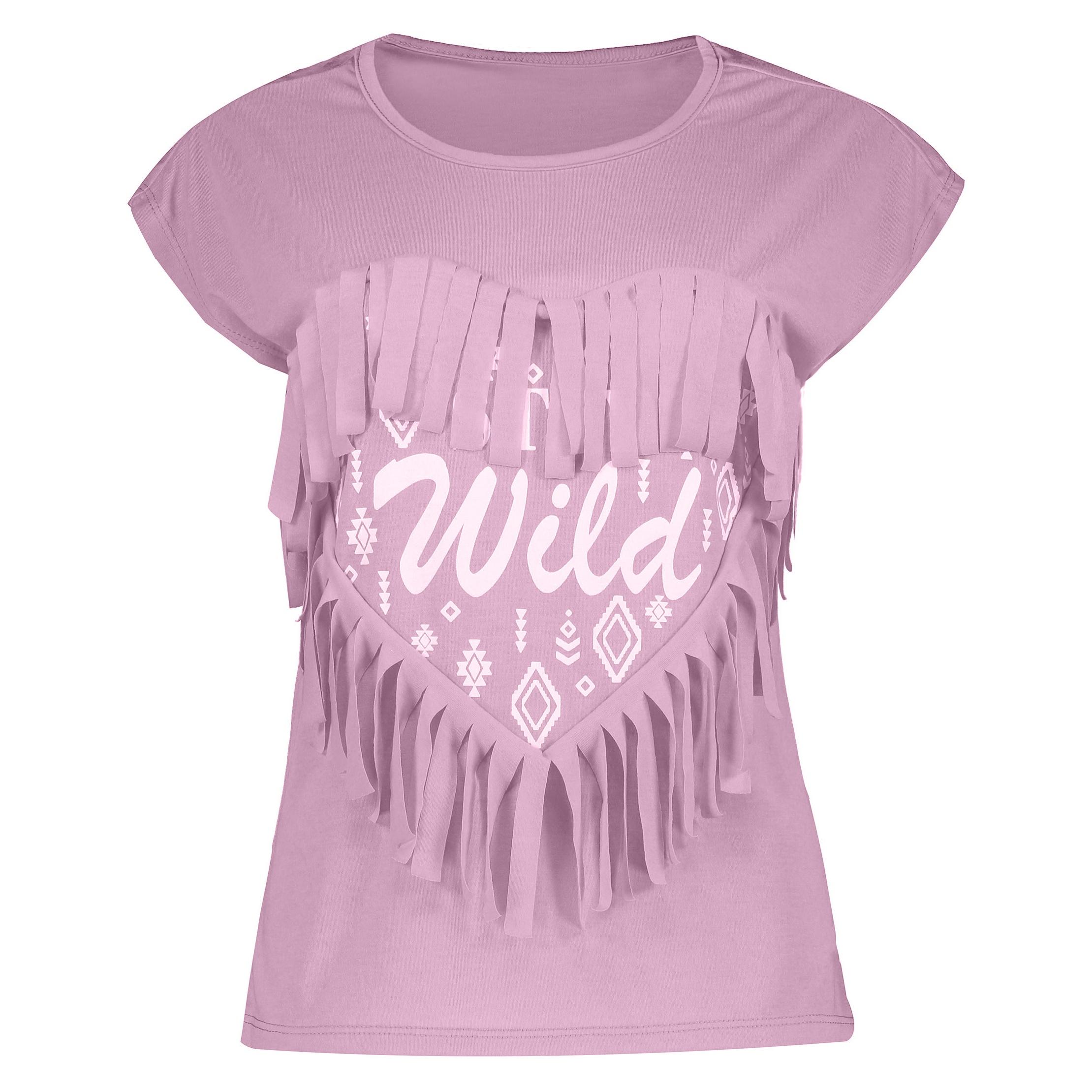 خرید تیشرت زنانه بنفش ارزان