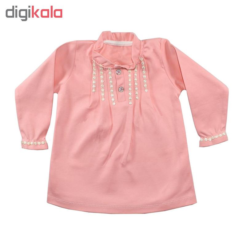 ست 3 تکه لباس نوزادی نیروان کد PR-3
